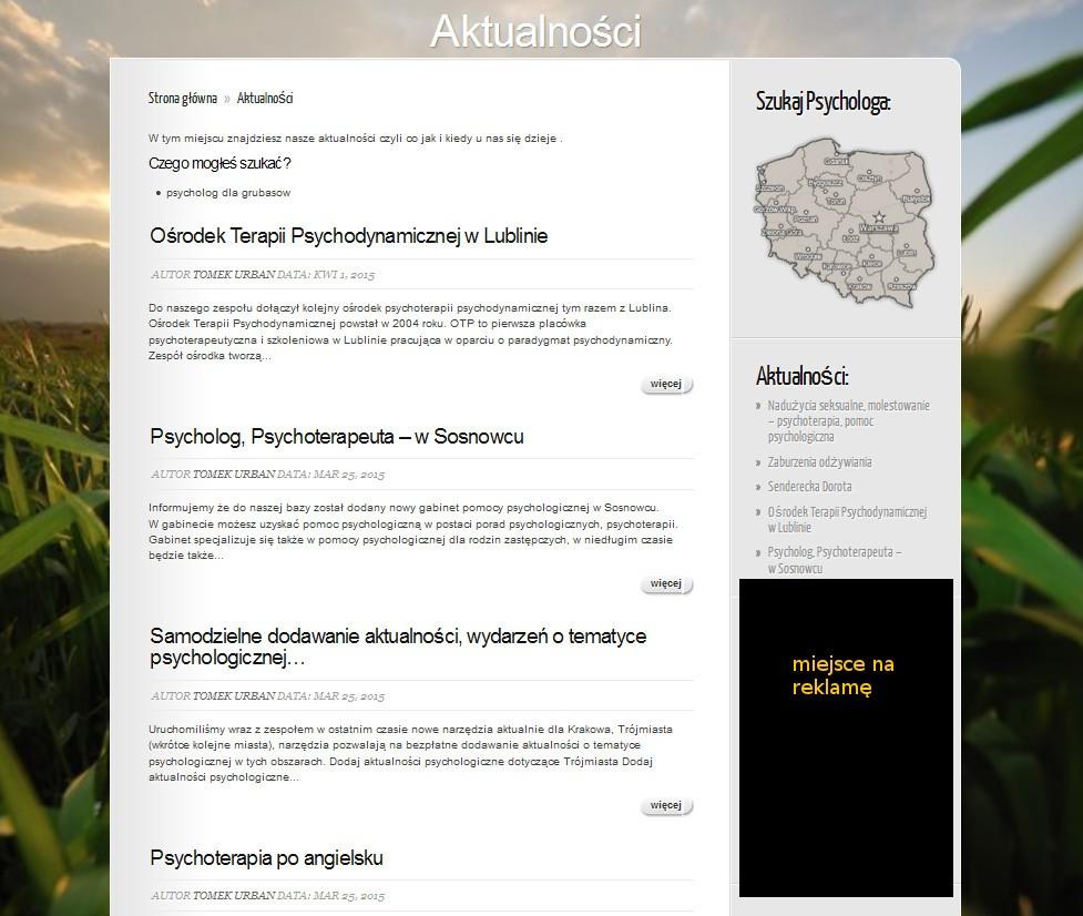 reklama dla psychologow